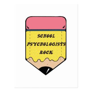 SCHULpsychologe-FELSEN Postkarte