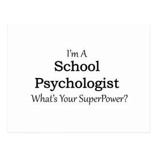 Schulpsychologe Postkarte