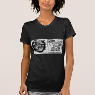 Schulterfreie Austern T-Shirt