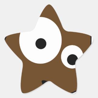Schupo Stern-Aufkleber