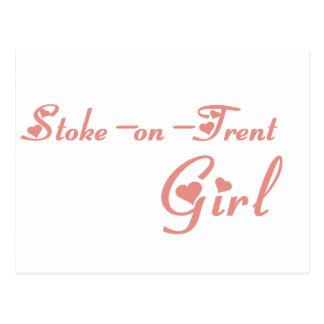 Schüren-auf-Trent Mädchen Postkarte