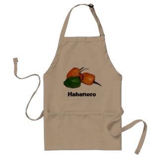 Schürze mit Habanero-Chili