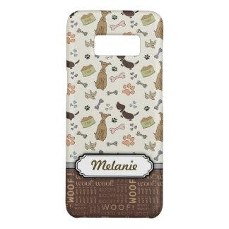 SCHUSS! Hundeliebhaber - Welpenmuster Case-Mate Samsung Galaxy S8 Hülle