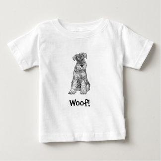 Schuss! HundeT - Shirt, Schnauzer Baby T-shirt