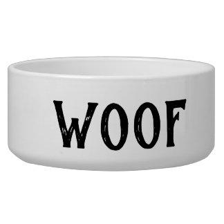Schuss-personalisierte große Hundeschüssel Napf