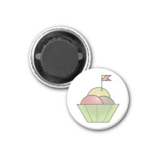 Schüssel des Eiscrememagneten Runder Magnet 2,5 Cm