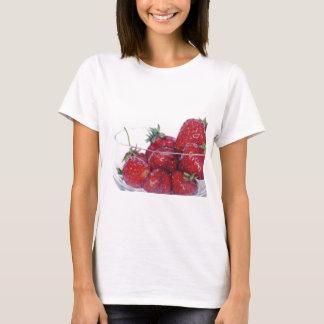 Schüssel Erdbeeren T-Shirt