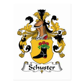 Schuster Familienwappen Postkarte