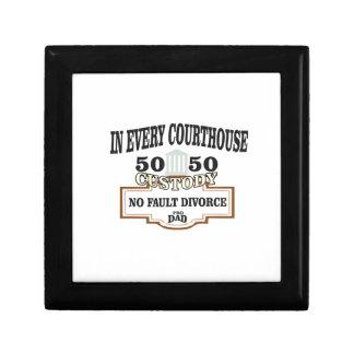 Schutz 50 50 in jedem Gericht Schmuckschachtel