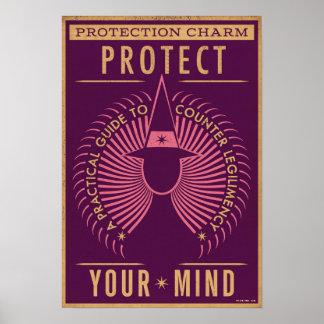 Schutz-Charme-Führer Poster