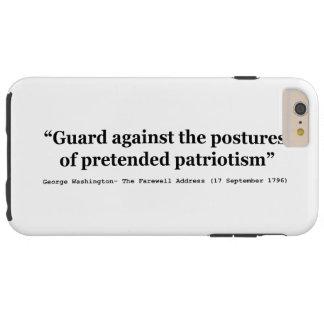 Schutz gegen die Lagen des vorgetäuschten Tough iPhone 6 Plus Hülle