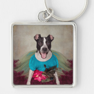 Schutz-Haustier-Projekt - Erschütterung-earrah Schlüsselanhänger
