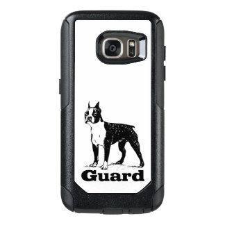Schutz-Hund Boston Terrier OtterBox Samsung Galaxy S7 Hülle