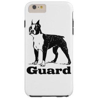 Schutz-Hund Boston Terrier Tough iPhone 6 Plus Hülle