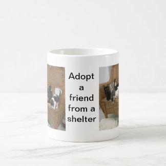Schutz-Kätzchen Kaffeetasse