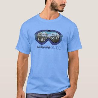 Schutzbrillen-Typt-stück Breckenridges Colorado T-Shirt