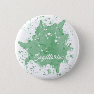 Schütze-grüner Knopf Runder Button 5,1 Cm