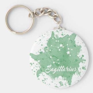 Schütze grünes Keychain Schlüsselanhänger