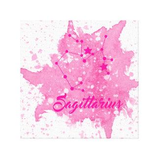 Schütze-rosa Wand-Kunst Leinwanddruck