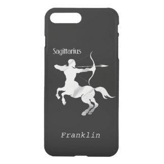 Schütze-silberner Bogenschütze-Tierkreis iPhone 8 Plus/7 Plus Hülle
