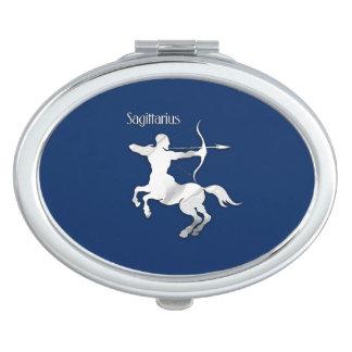 Schütze-silbernes Taschenspiegel