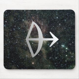 Schütze-Tierkreis-Stern-Zeichen-Universum Mauspad