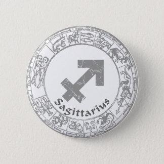 Schütze-Tierkreiszeichen Vintag Runder Button 5,7 Cm
