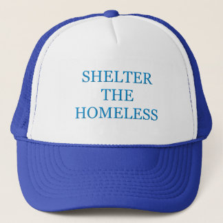 Schützen Sie den Obdachlosen Truckerkappe