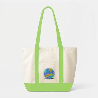 Schützen Sie die Erde! Tasche