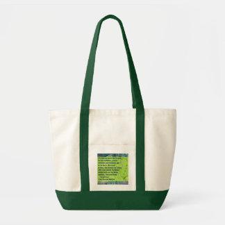 schützen Sie die Waldtasche Impulse Stoffbeutel