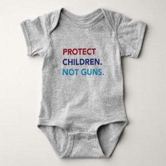 Schützen Sie Kinder. Nicht Gewehre. Baby-Bodysuit Baby Strampler