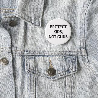 schützen Sie Kinder, nicht Gewehre Runder Button 5,1 Cm