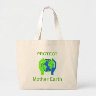 Schützen Sie Mutter Erde Einkaufstasche