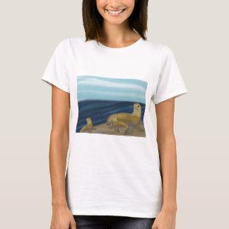 Schützen Sie Seelöwe-T - Shirts
