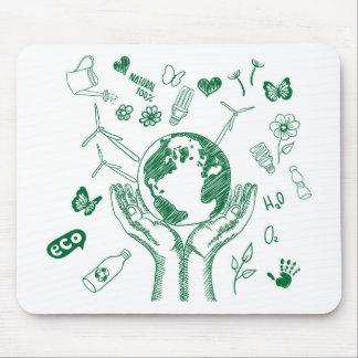 Schützen Sie Umwelt Mauspads