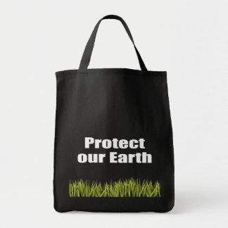 Schützen Sie unsere Erde Einkaufstasche