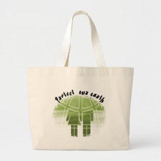 Schützen Sie unsere Erdt-shirts und -geschenke Tasche
