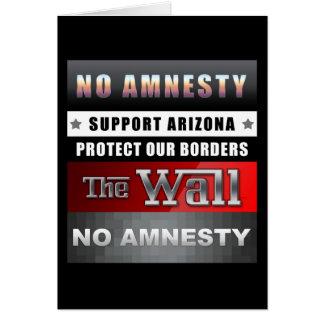 Schützen Sie unsere Grenzen Karte