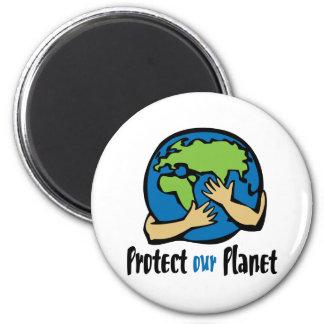 Schützen Sie unseren Planeten Magnete