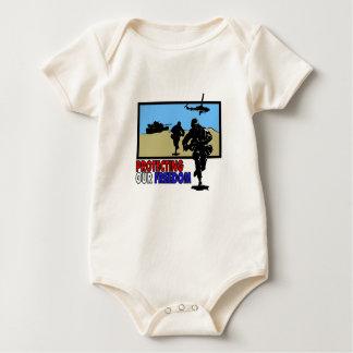Schützen unserer Freiheit Baby Strampler