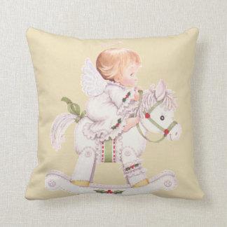 Schutzengel-Baby-Schaukelpferd-Kissen irgendeine Kissen