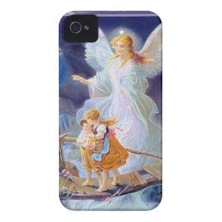 Schutzengel, Kinder und Brücke iPhone 4 Hülle