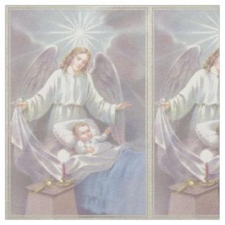 Schutzengel mit Kind Stoff