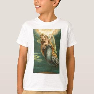Schutzengel und Baby Jesus T-Shirt