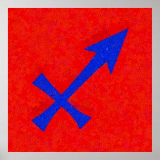 Schützesymbol Poster