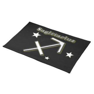 Schützesymbol Stofftischset