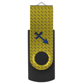 Schützesymbol USB Stick