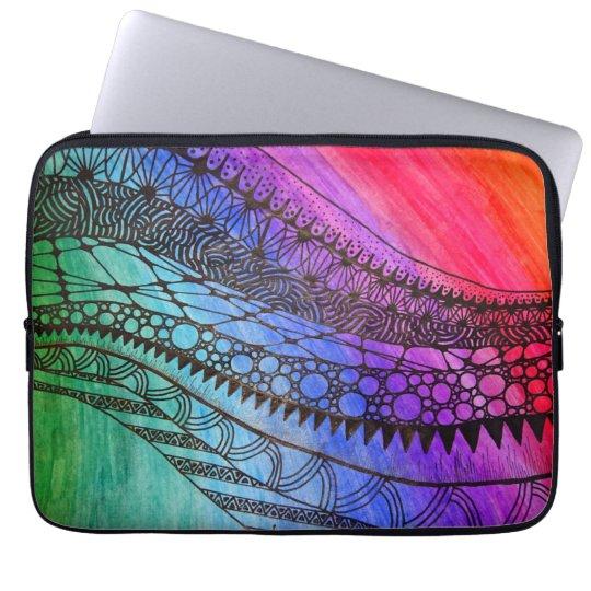 Schutzhülle für Tablet / Laptop, Regenbogenfarben Laptopschutzhülle