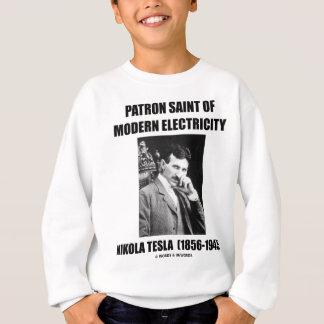 Schutzpatron des modernen Stroms (Nikola Tesla) Sweatshirt