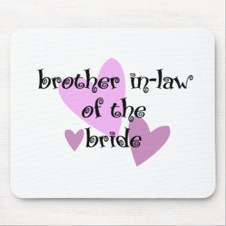 Schwager der Braut Mousepads